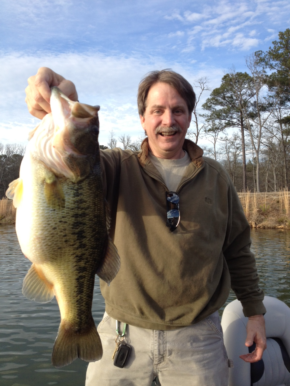 Foxworthy bass for sale aquatic environmental services for Pond stocking fish for sale